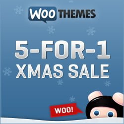 Woothemes 5 for 1 Holiday Special